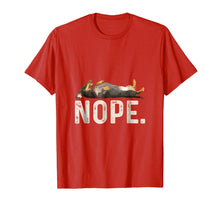 Load image into Gallery viewer, Nope Lazy Dachshund Dog Lover Gift T-Shirt