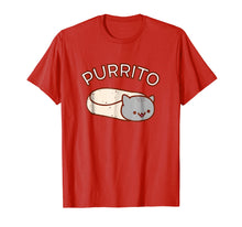 Load image into Gallery viewer, Kawaii T-Shirt: PURRITO Cat