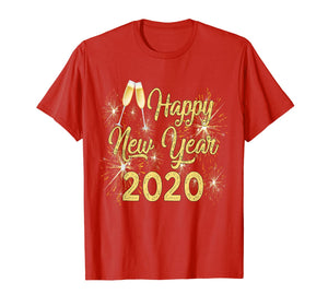 New Years Eve Special Gift Fireworks Happy New Year 2020 Men T-Shirt