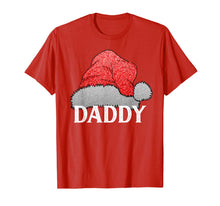 Load image into Gallery viewer, Mens daddy santa claus hat Christmas Matching Family Group pajama T-Shirt