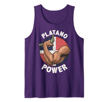 Load image into Gallery viewer, Platano Power Dominican Republic Pride Merch Tank Top