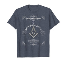 Load image into Gallery viewer, Masonic Freemason with Sandy Springs Lodge T-Shirt