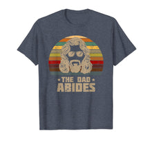 Load image into Gallery viewer, Mens The Dad Abides Retro Father's Day T-Shirt