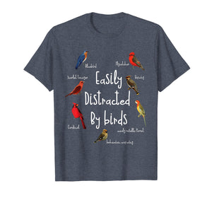 Easily Distracted by Birds Kids T Shirt