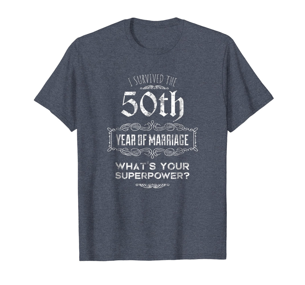 50th Wedding Anniversary Matching Shirts for Couples