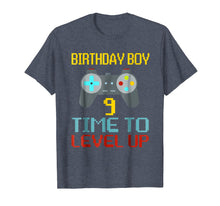 Load image into Gallery viewer, 9th Birthday Boy Shirt Video Game Gamer Boys Kids Gift