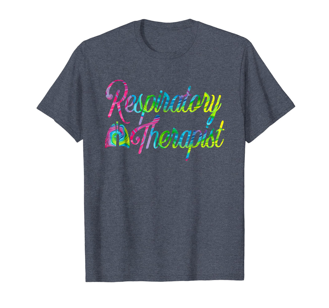 Respiratory Therapist RT Care Week Tie Dye T-Shirt