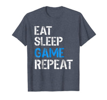 Load image into Gallery viewer, Eat Sleep Game Repeat Shirt Video Gamer Gifts Gaming Players