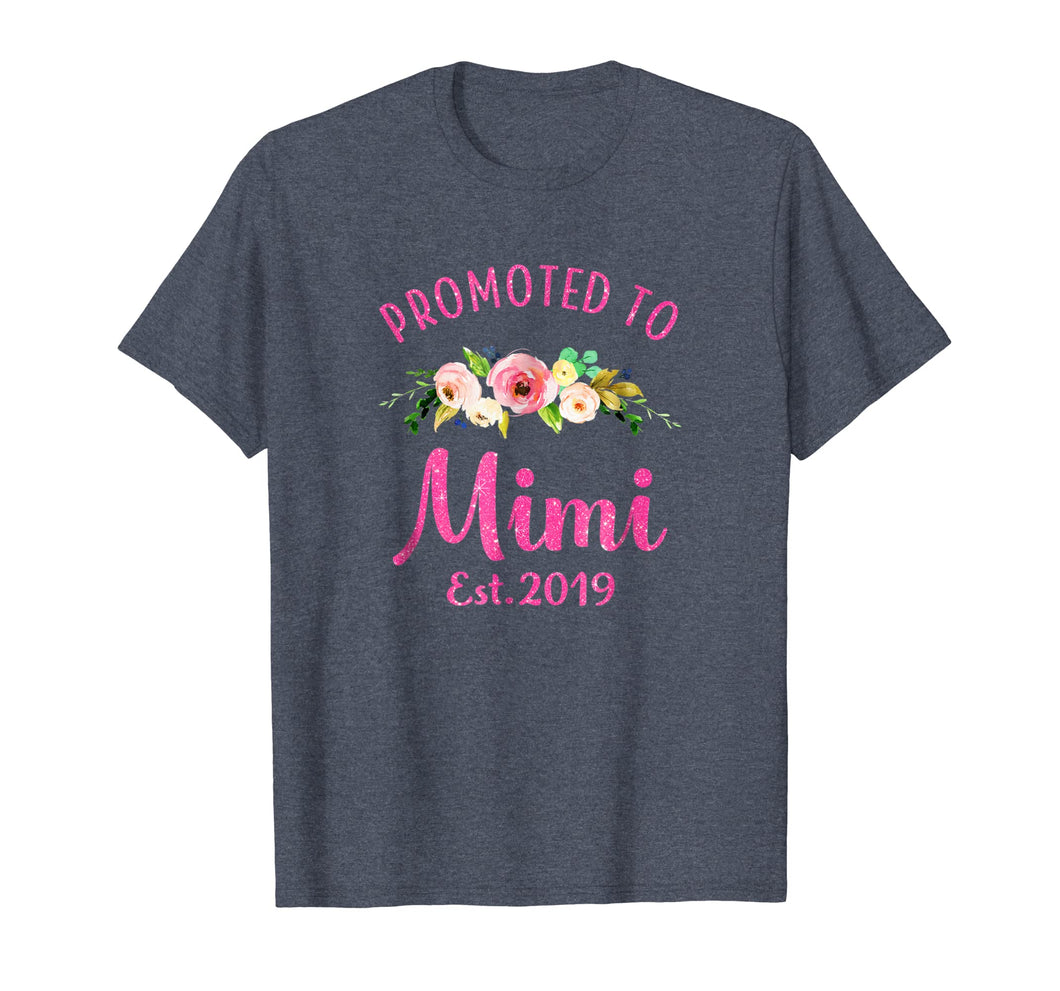 Promoted to Mimi Est 2019 New Grandma To Be Shirt