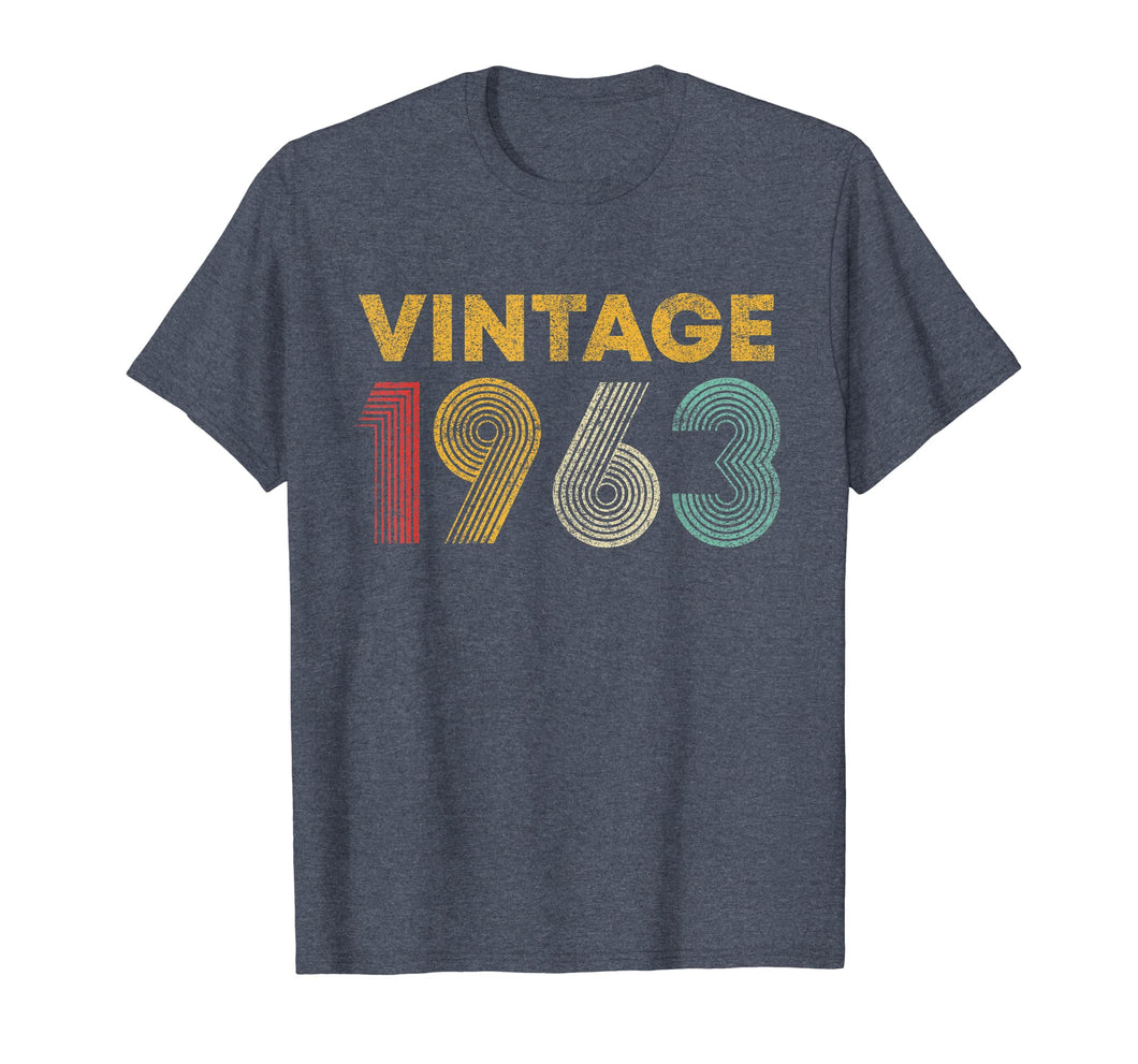 56th Birthday Gift Idea Vintage 1963 T-Shirt Men Women