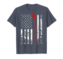Load image into Gallery viewer, American Flag Hockey USA Patriotic Gift T-Shirt