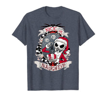 Load image into Gallery viewer, Nice or naughty Nightmare Before xmas scary gift T-Shirt