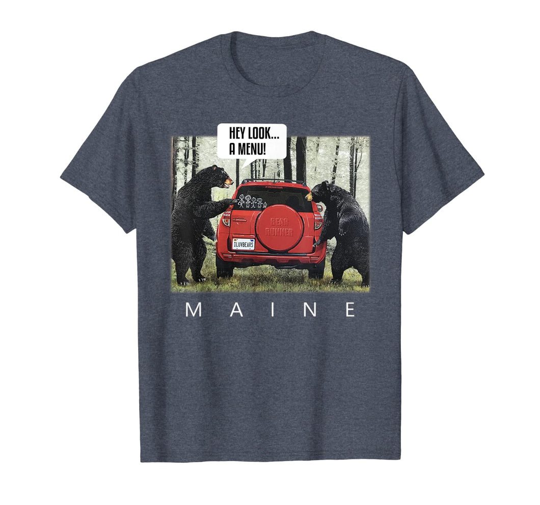 Bears Say Look A Menu Tee T-Shirt