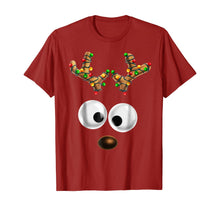 Load image into Gallery viewer, Matching Family Christmas Reindeer Face Shirt for Kids Gift