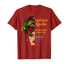 Load image into Gallery viewer, Sagittarius Queens Born in November 22 - December 21 T-shirt T-Shirt