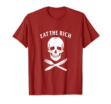 Load image into Gallery viewer, Eat The Rich T-Shirt - Protest Socialist Communist