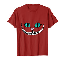 Load image into Gallery viewer, Cheshire Cat T-Shirt - Grinning Invisible Cat Tee Halloween