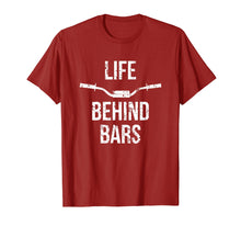 Load image into Gallery viewer, Life Behind Bars Funny Motocross Bar T-shirt