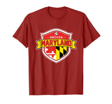 Load image into Gallery viewer, Maryland Soccer Tshirt