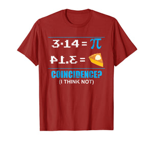 Pi Day 2018 March 14th Funny Pie Style Tshirt for Math Geeks