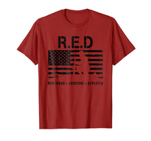 Load image into Gallery viewer, R.E.D Friday TShirt RED Remember Everyone Deployed