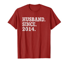 Load image into Gallery viewer, Mens 5th Wedding Anniversary Gifts - Husband Since 2014 Shirt