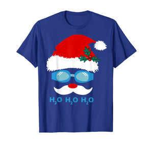 Santa Swimming h2o h2o h2o T-Shirt