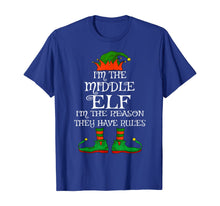 Load image into Gallery viewer, Middle Elf Family Matching Funny Christmas Pajama Party Gift T-Shirt