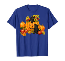 Load image into Gallery viewer, Black Cat Pumpkin Halloween Costume Funny T-Shirt