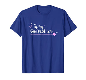 Fairy Godmother T Shirt, Cute Wand Star Spell Fantasy Gift