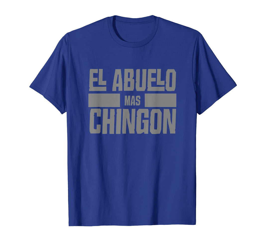 Mens El Abuelo Mas Chingon Spanish Grandpa T Shirt