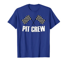 Load image into Gallery viewer, Pit Crew T Shirt for Hosting Race Car Parties Parents Pit