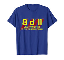 Load image into Gallery viewer, 8 d' 11 Barcelona Champion T Shirt for Soccer Fans