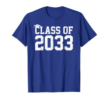 Load image into Gallery viewer, Class Of 2033 Grow With Me Graduation First Day Of School T-Shirt