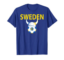 Load image into Gallery viewer, Sweden Soccer Jersey Swedish Viking Football T-Shirt