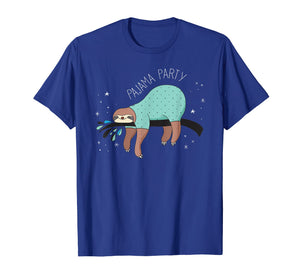 Sloth Pajama Party | Cute Sloth Lover T-Shirt & Gift