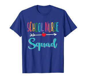 School Nurse Squad Teacher Back To School T-Shirt