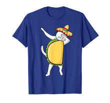 Load image into Gallery viewer, Dabbing Taco Cat Tacocat Shirt Cinco De Mayo Party Kids