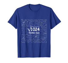 Load image into Gallery viewer, 32nd Birthday Gift 32 Years Old - Square Root of 1024 Shirt