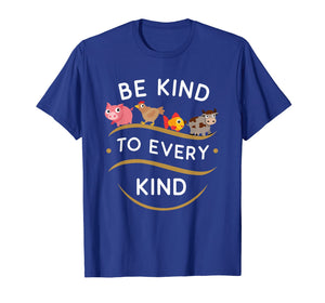 Be Kind To Every Kind Vegetarian Vegan T-Shirt