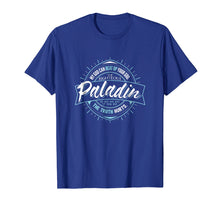 Load image into Gallery viewer, PALADIN Fantasy RPG GM Dungeon Game Master DM boardgame tee
