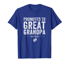 Load image into Gallery viewer, Promoted to Great Grandpa Shirt 2019 Pregnancy Announcement