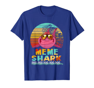 Meme Shark T-Shirt Doo Doo Doo For Mother's Day Gift