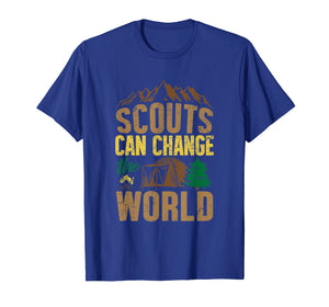 Scout T Shirt Cub Scouting Dad Troop Leader Camp Boy Gift