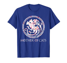 Load image into Gallery viewer, Cat Lovers Shirt - Mother of Cats Mix Flower T-Shirt