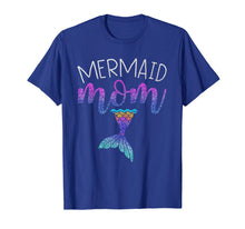 Load image into Gallery viewer, Mermaid Mom Mermaid Birthday Party Shirt