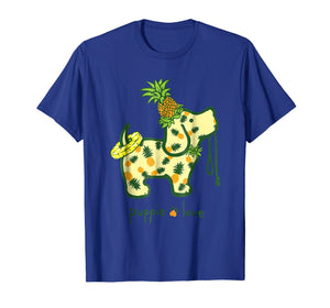 Puppie Love Shirt Pineapple Puppie Shirt For Women
