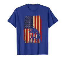 Load image into Gallery viewer, Pit bull American Flag 4th Of July Shirt