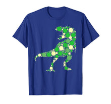 Load image into Gallery viewer, Green Polka Dot T Rex Dinosaur International Dot Day T-Shirt