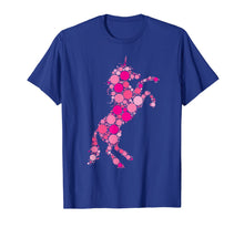 Load image into Gallery viewer, Pink Polka Dot Unicorn International Dot Day T-Shirt